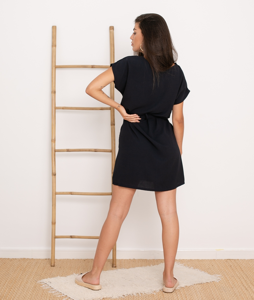 Vestido Tremer - Noir