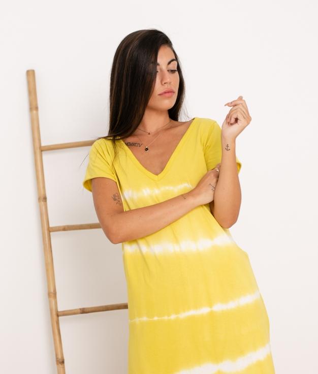 Vestido Anemus - Amarillo