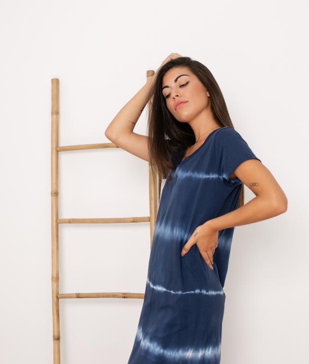 Vestido Anemus - Azul