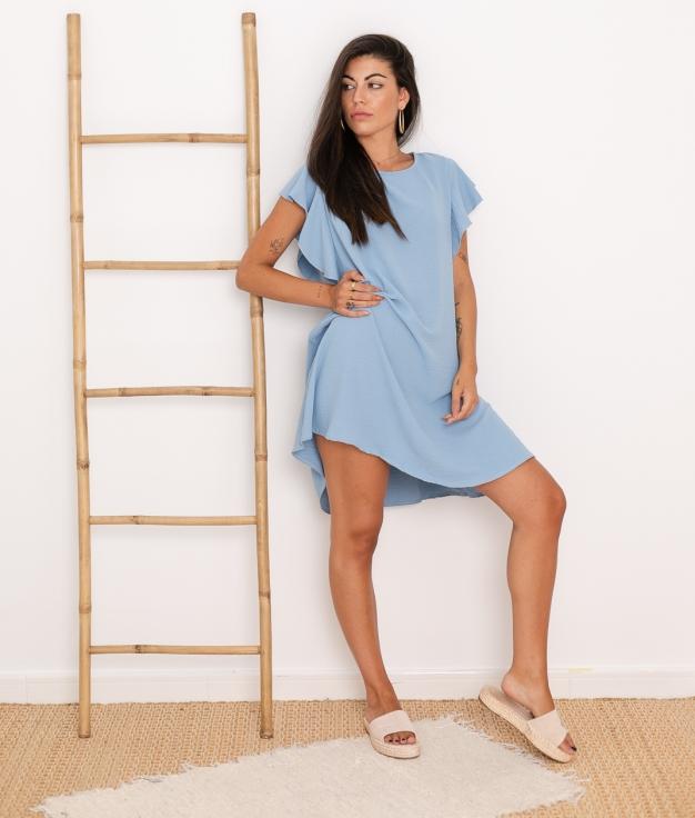 Vestido Menfis - Azul