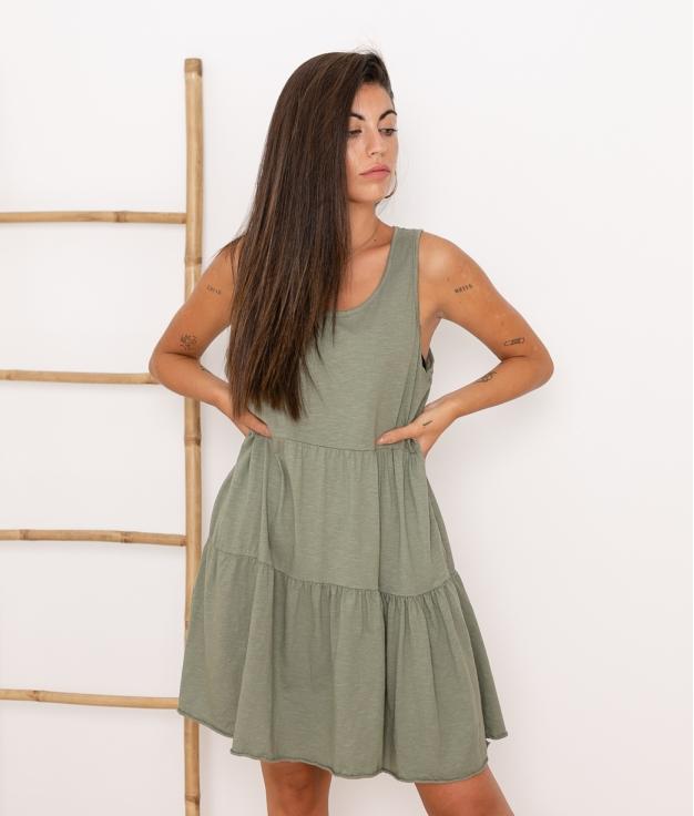 Vestido Carlin - Kaki