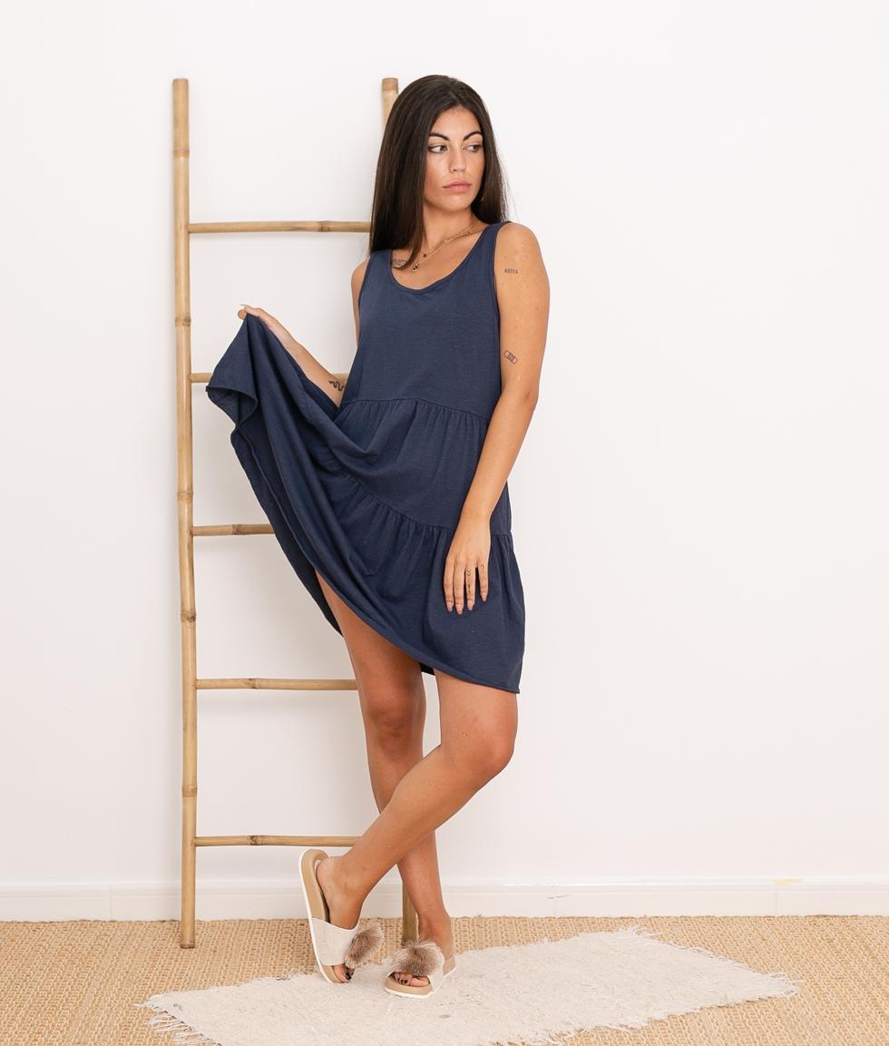 Vestido Carlin - Azul