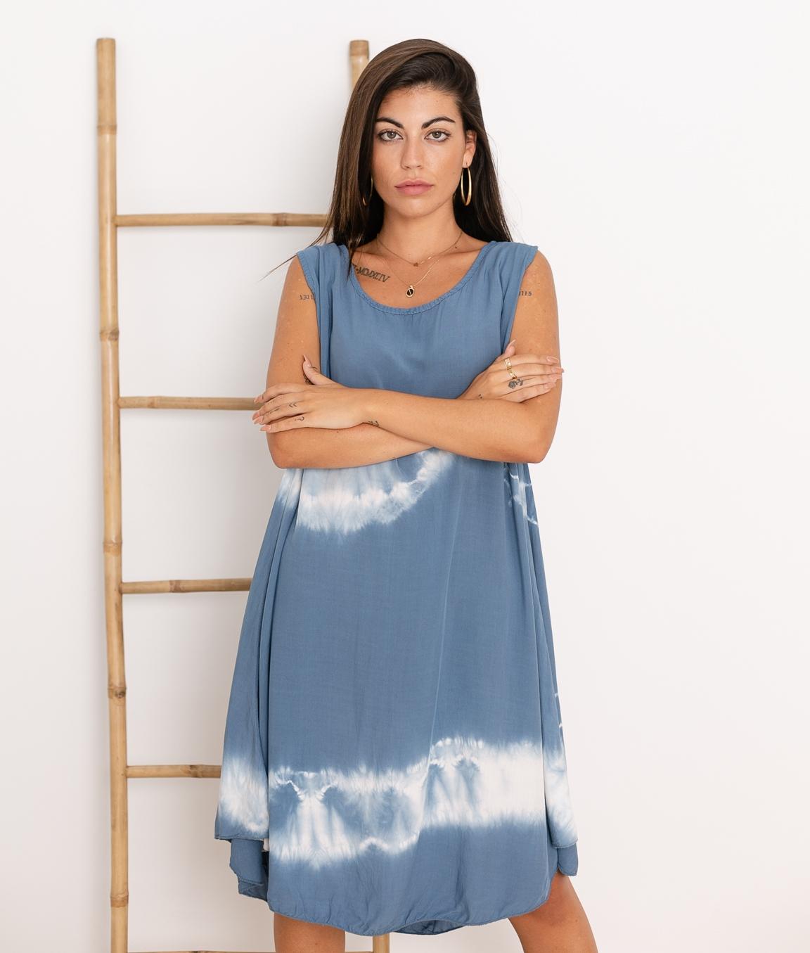 Vestido Sample - Azul