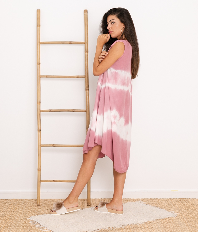 Vestido Sample - Rosa