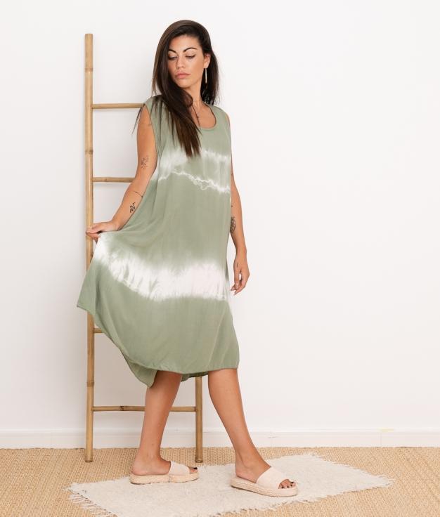 Vestido Sample - Kaki