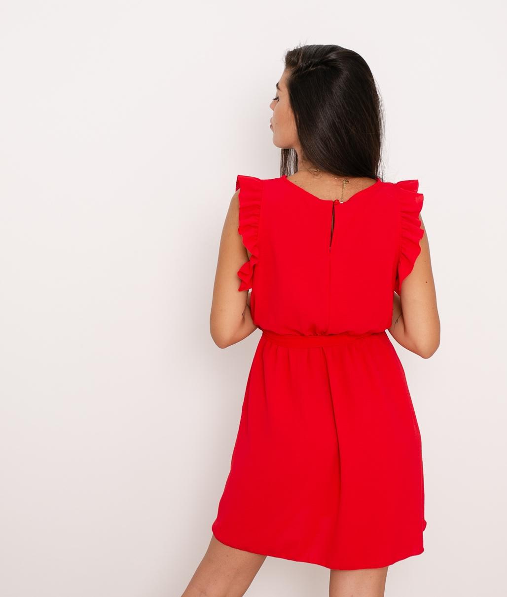 Vestido Galia - Rojo
