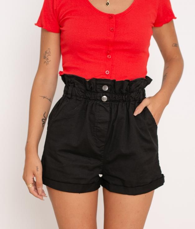 Short Teco - Black