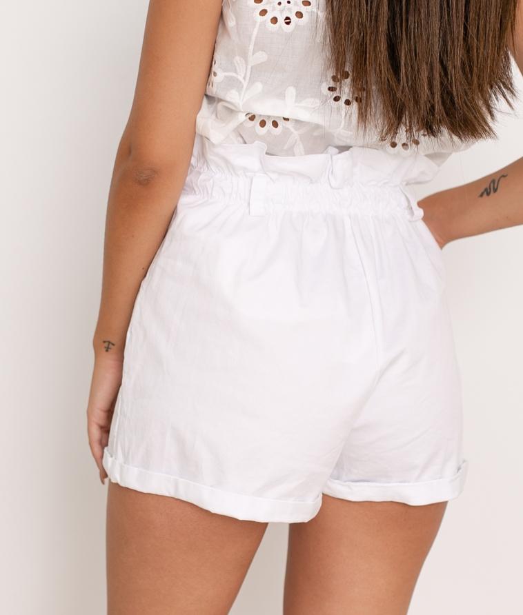 Short Teco - Blanco