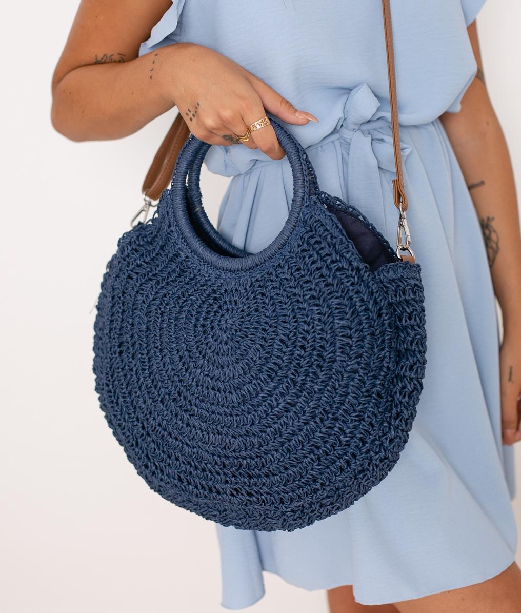Bandolera Moter - Azul