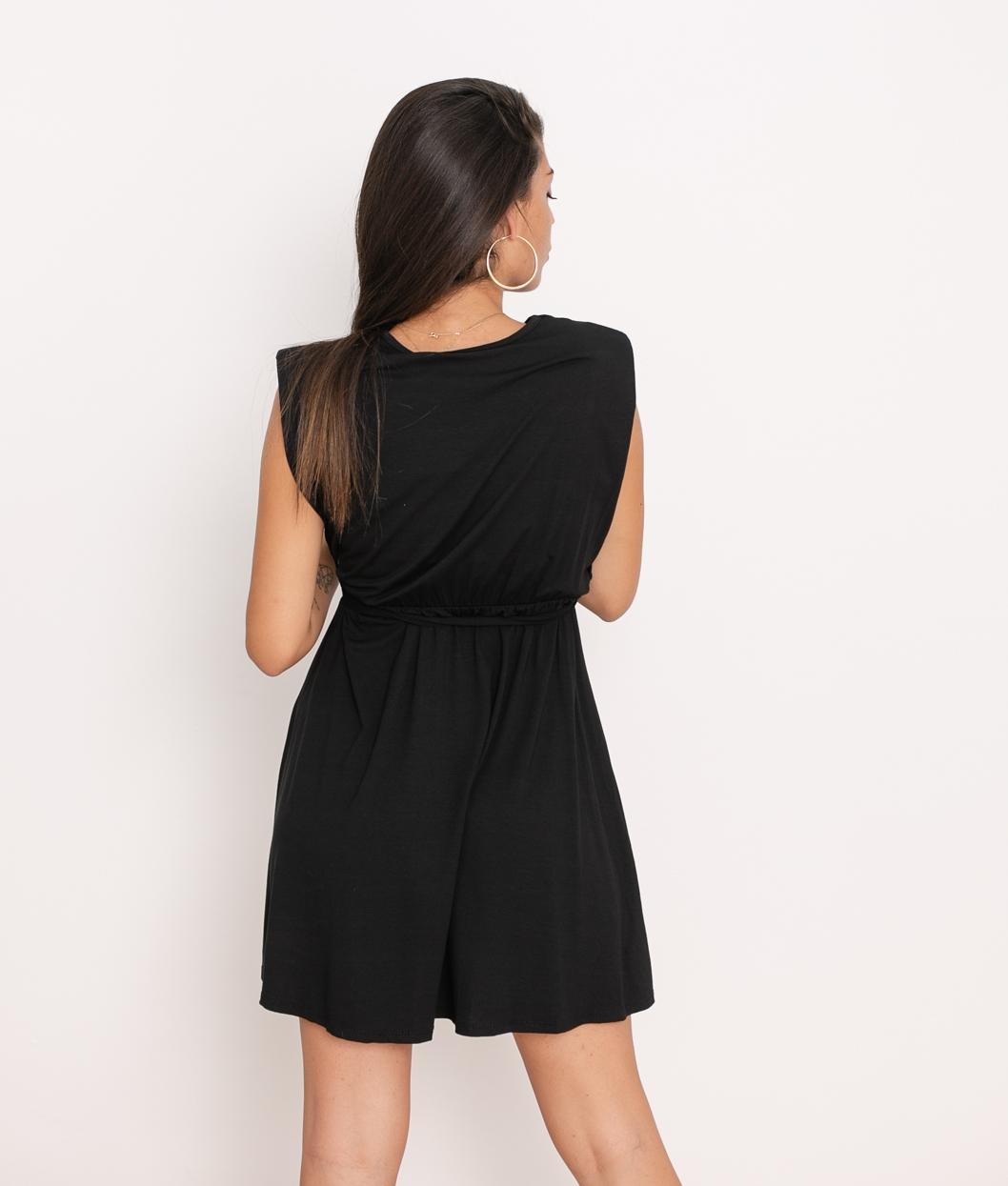Vestido Vera - Negro