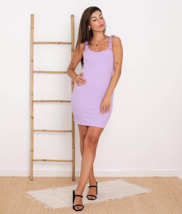 Vestido Vanela - Lila