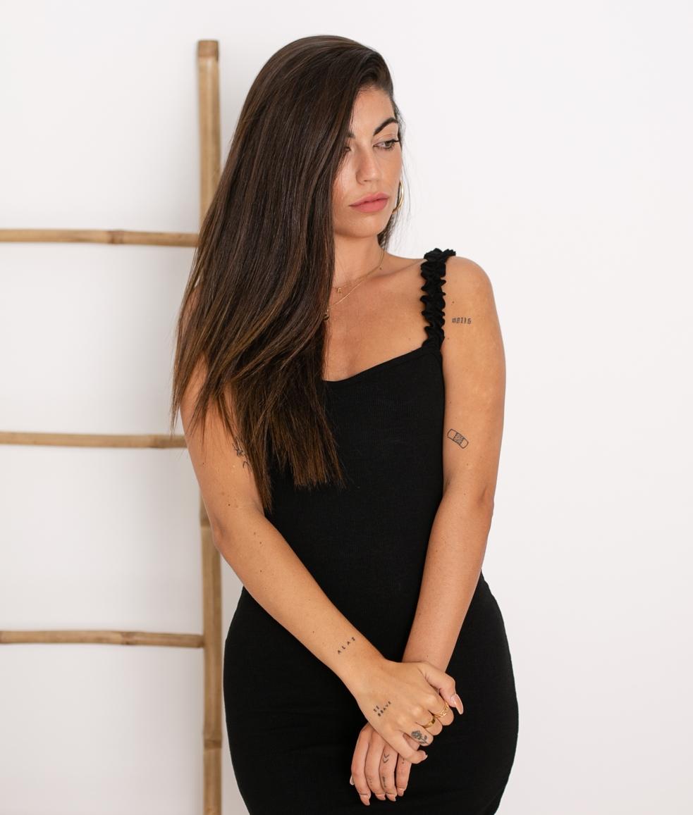 Vestido Vanela - Negro