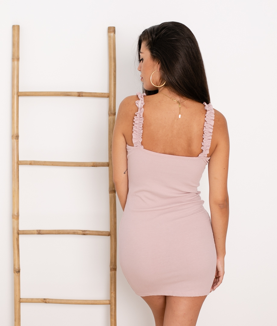 Vestido Vanela - Rosa