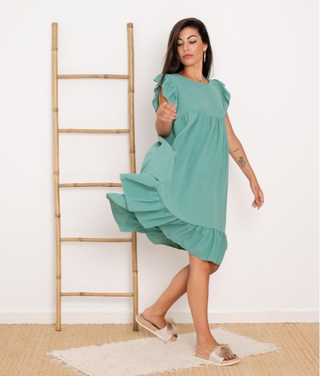 Vestido Lucy - Verde