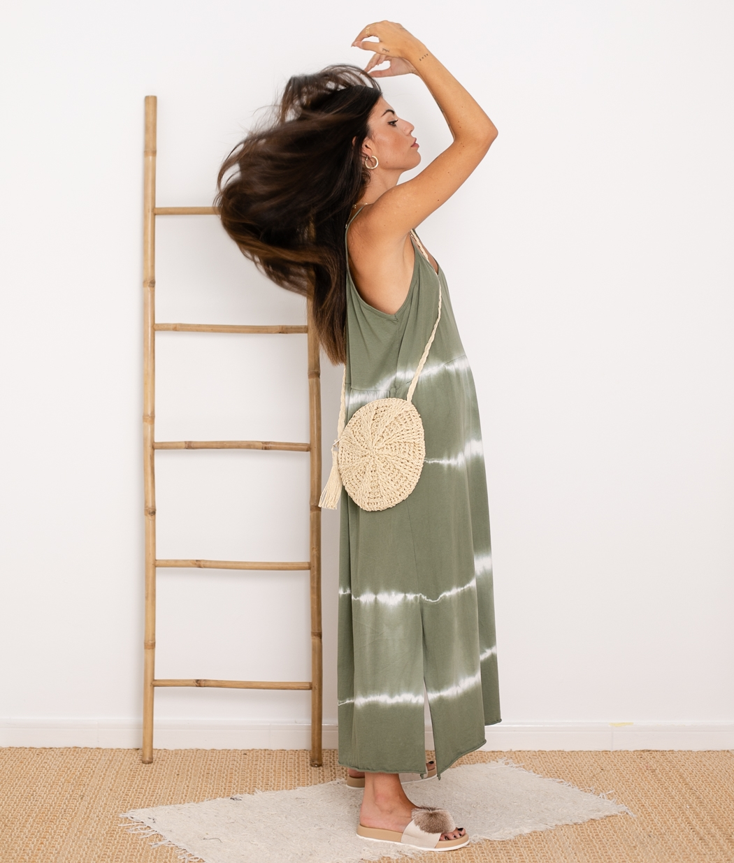 Vestido Cata - Verde