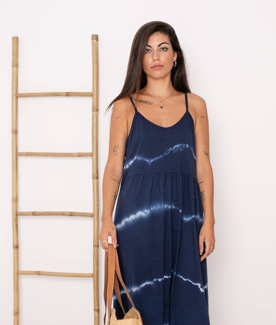 Vestido Cata - Azul