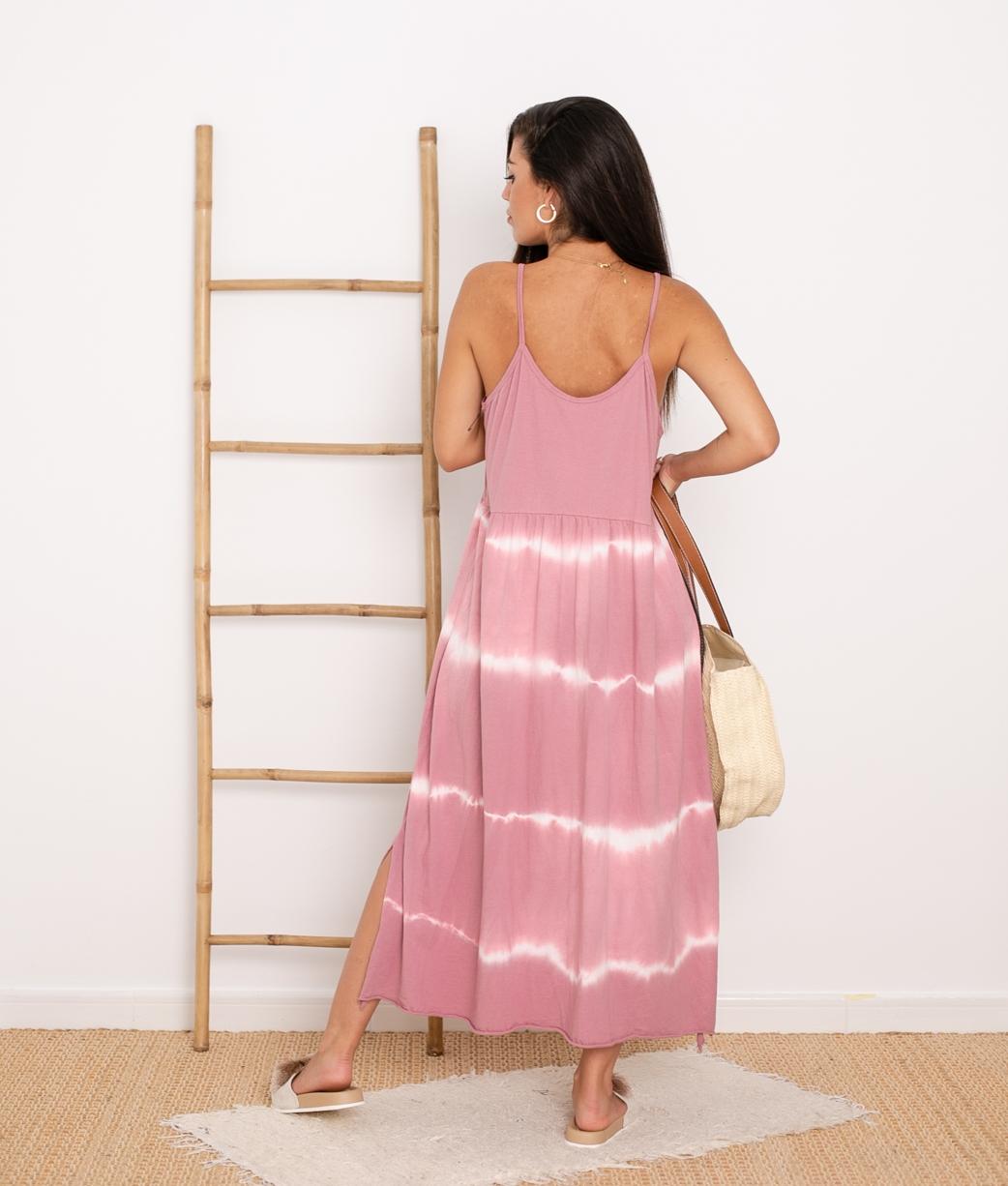 Vestido Cata - Rosa