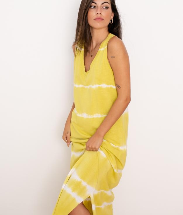 Vestido Arco - Mostaza