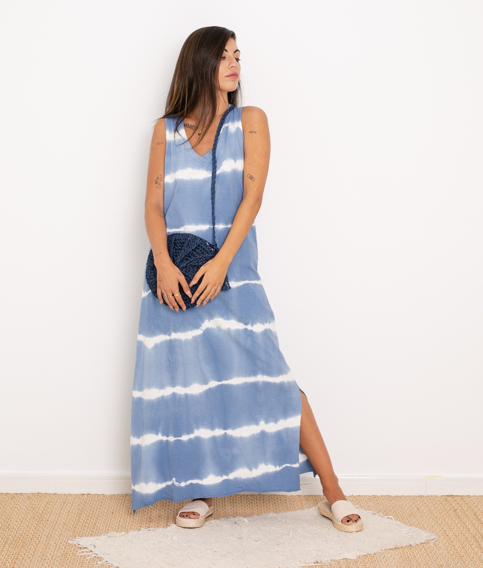 Vestido Arco - Azul
