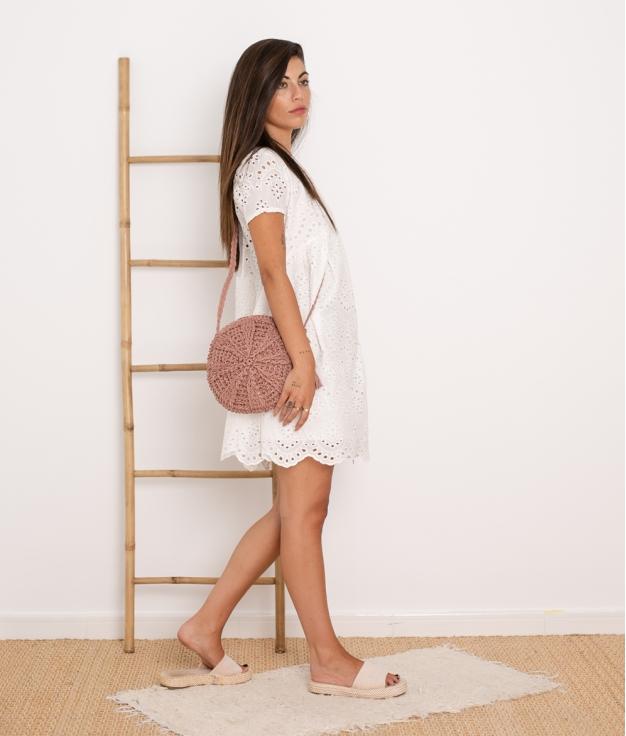 Vestido Zambra - White