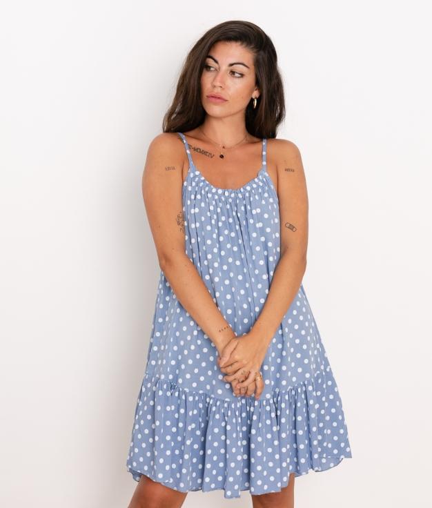 Vestido Lucia - Azul
