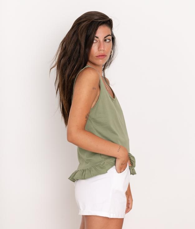 Camiseta Vela - Verde