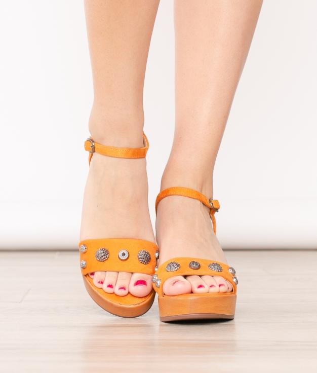 High Sandal Oraz - Brick