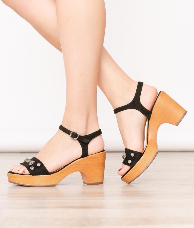 High Sandal Oraz - Black