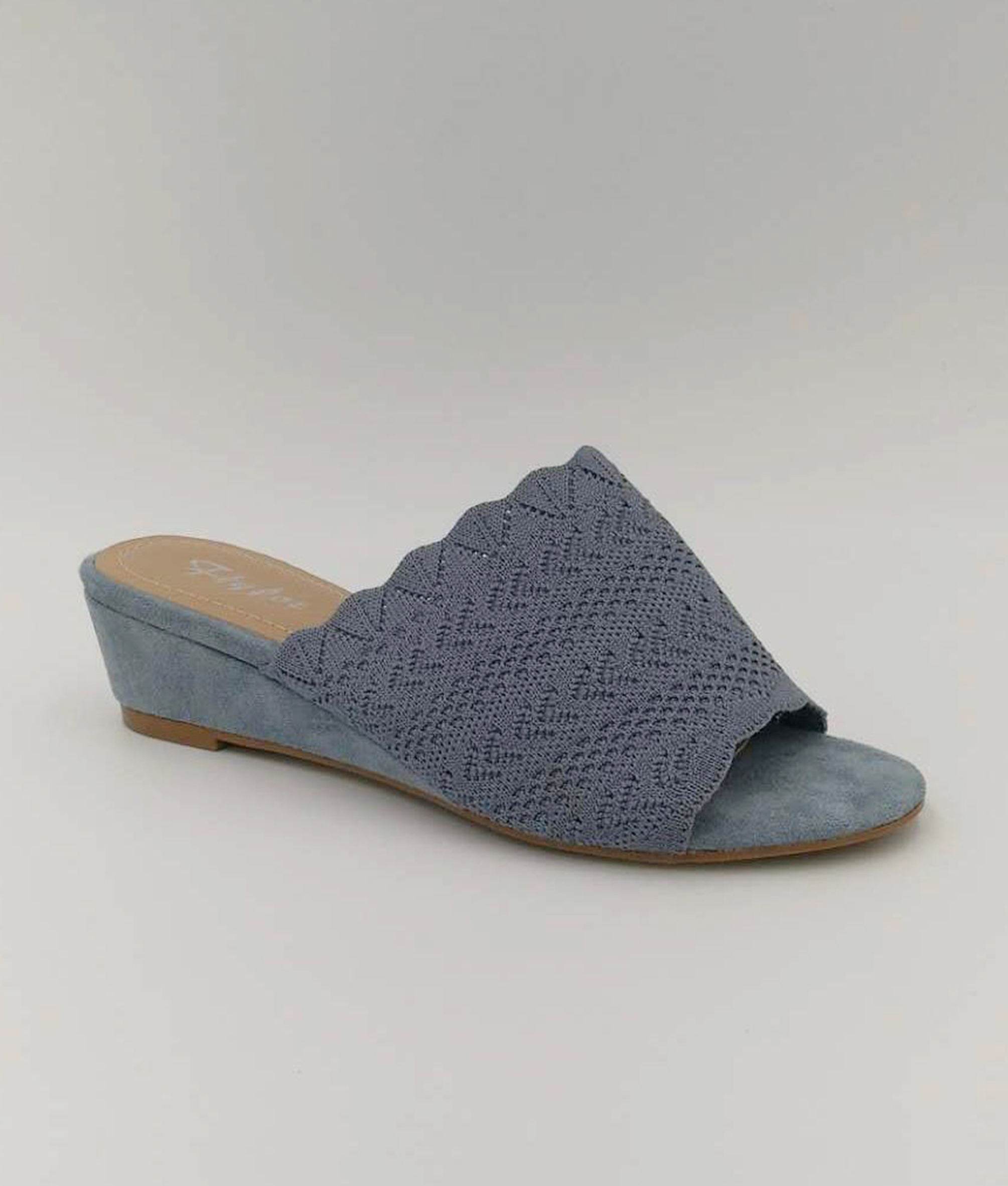 Wedge Heel Canter - Azul