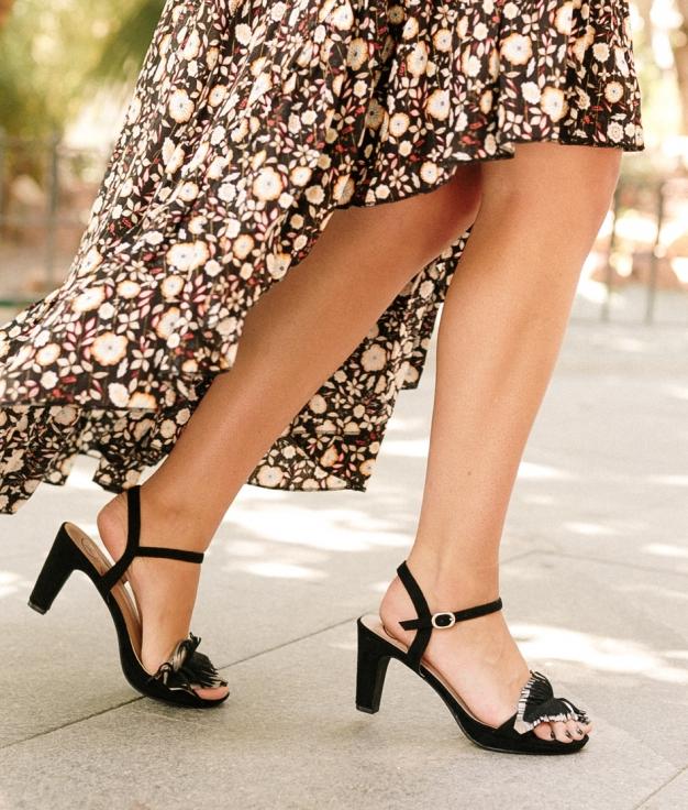 Sandalo Apluma - Nero