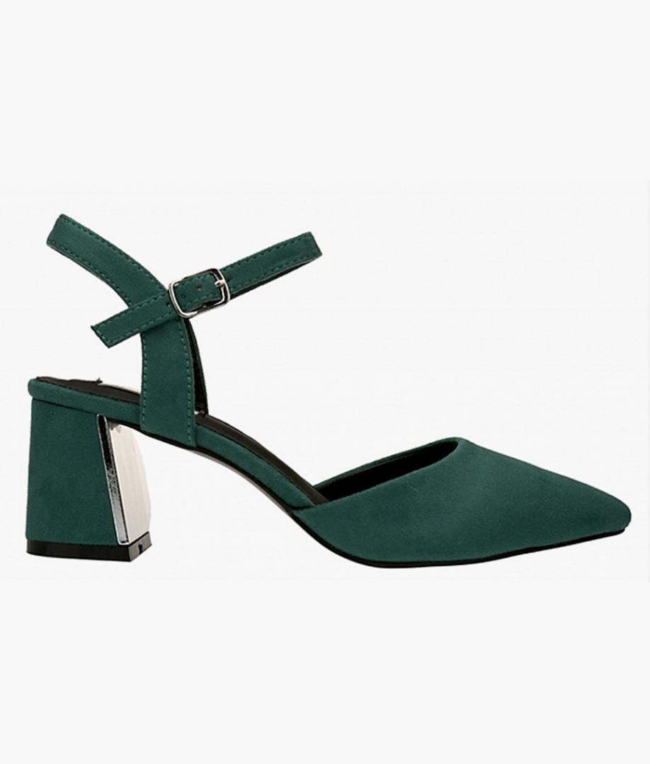 Sandalia de Tacón Siracusa - Verde
