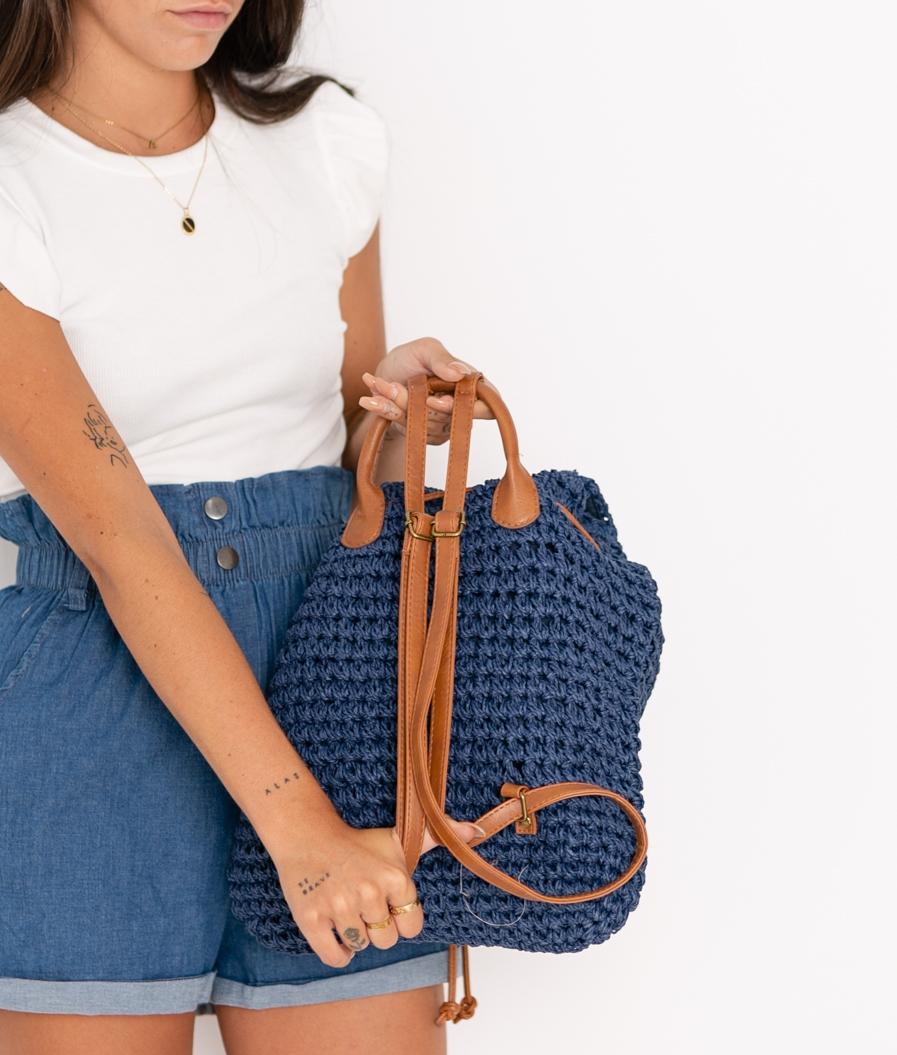 Mochila Flexy - Azul Marino
