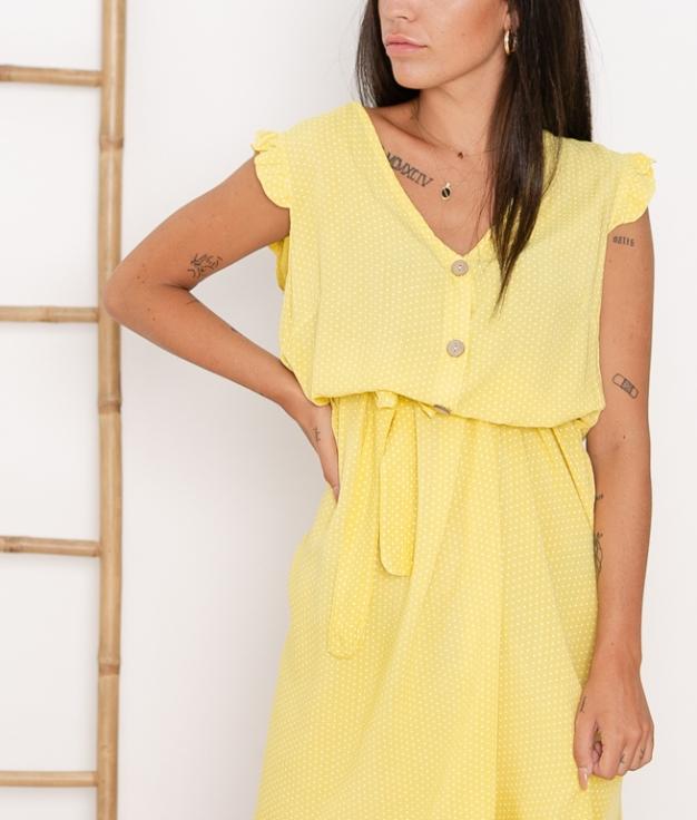 Vestido Landa - Amarillo