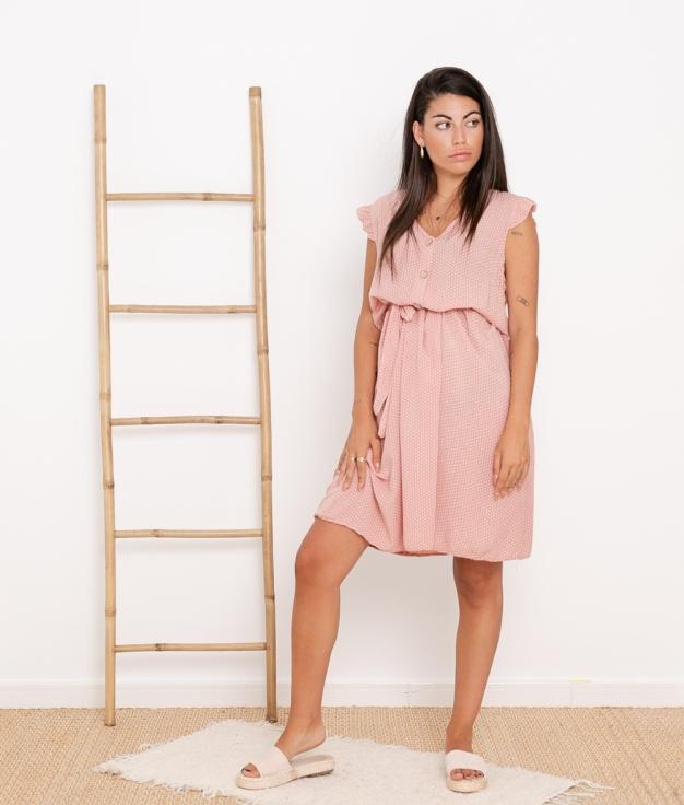 Vestido Landa - Rosa