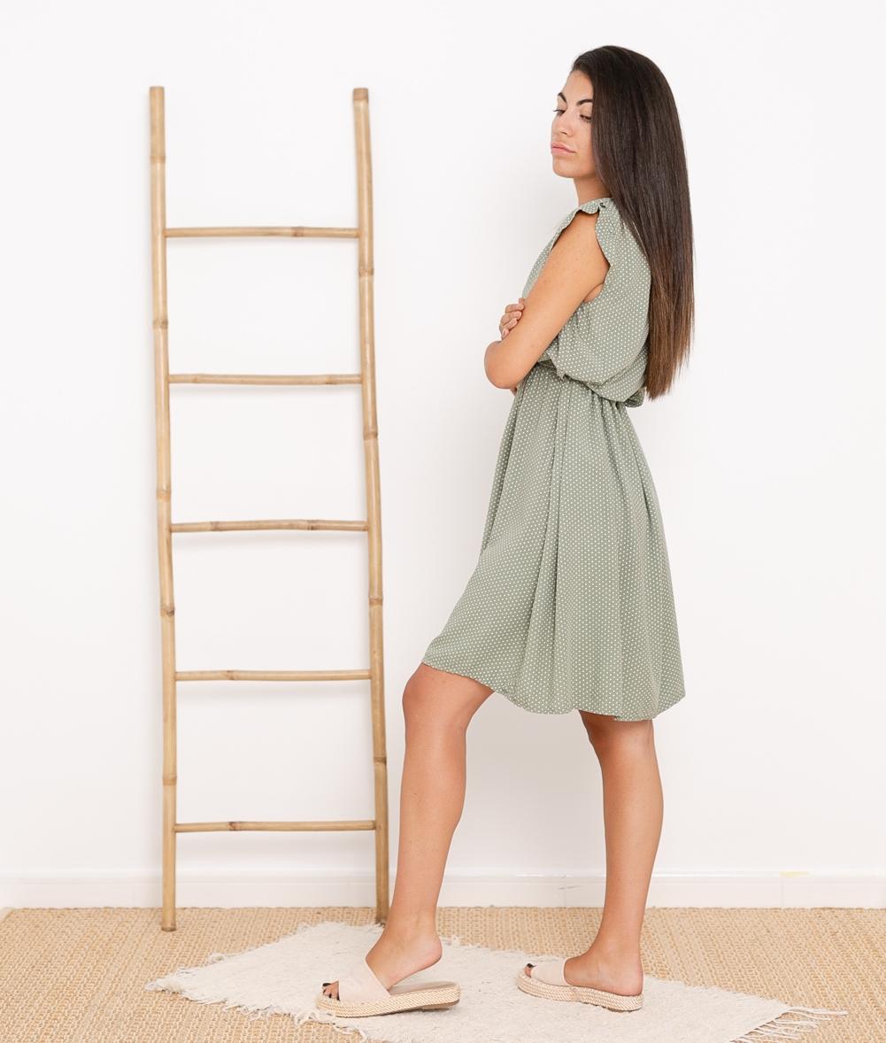 Vestido Landa - Kaki
