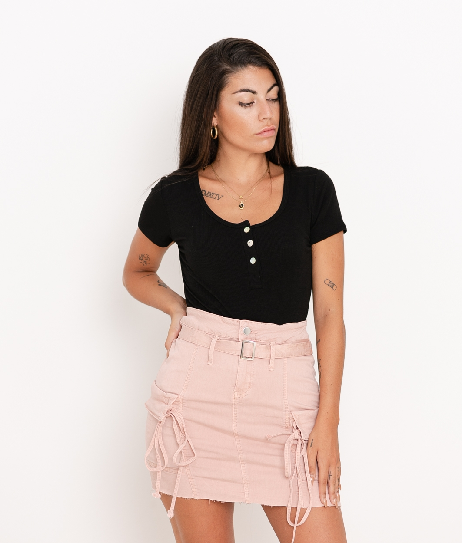 Camiseta Pinki - Negro