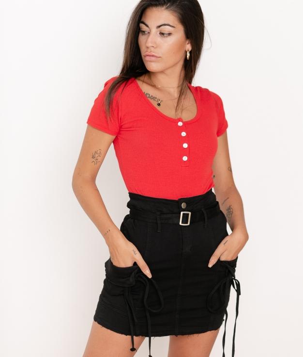 Camiseta Pinki - Rojo