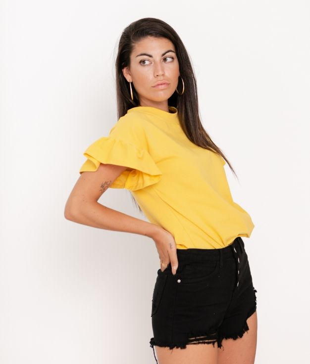 Camiseta Dante - Amarillo
