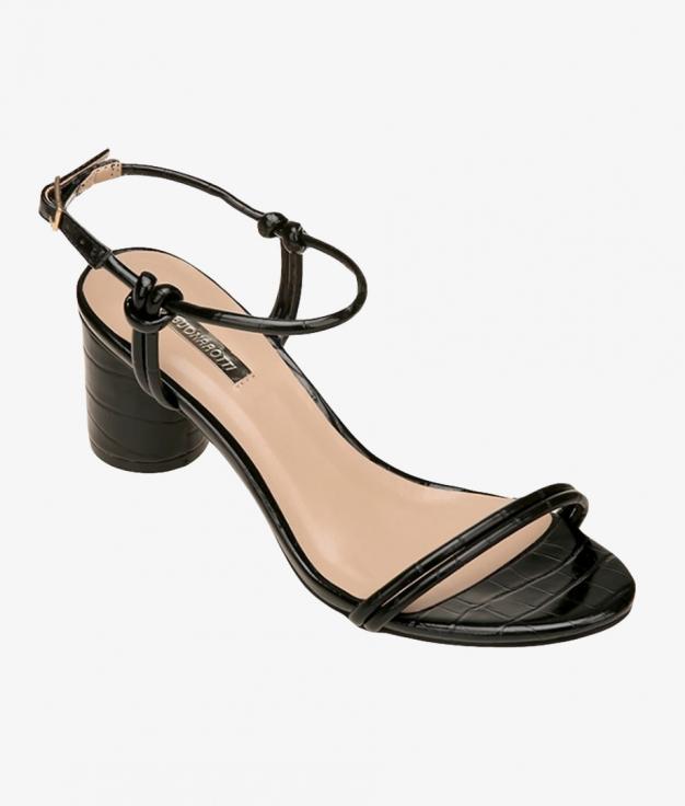 Sandalo Alto Miranda - Nero