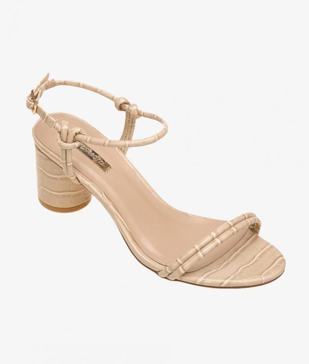 Sandale Talon Miranda - Beige