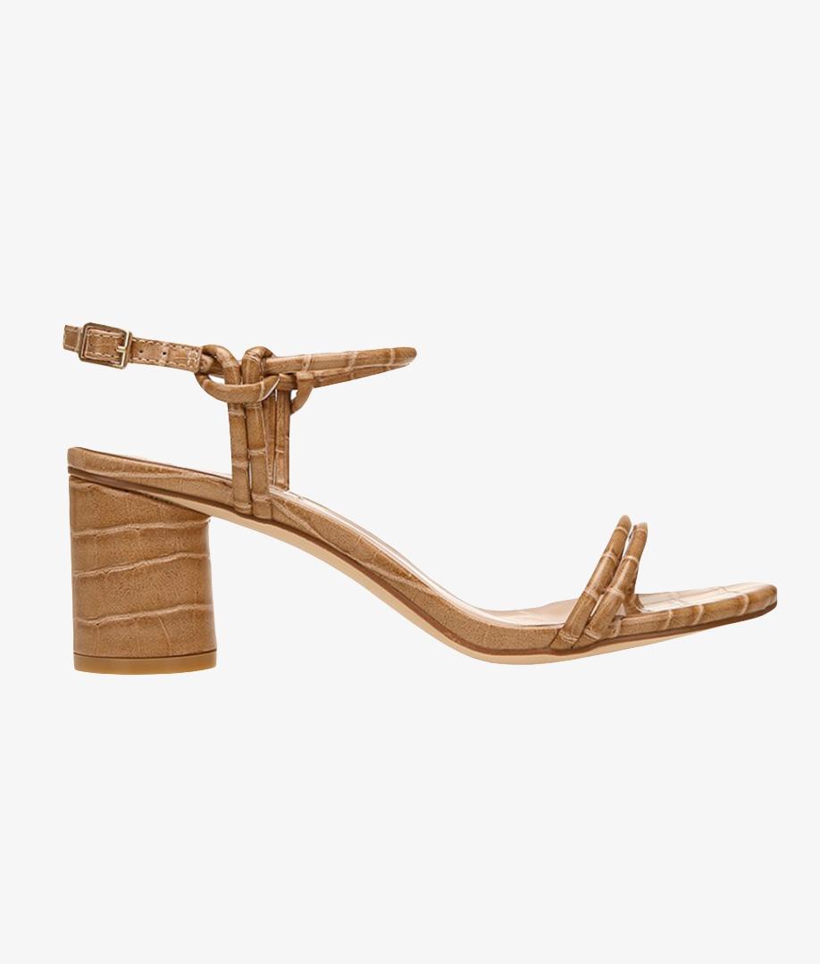 Sandalia de Tacón Miranda - Camel