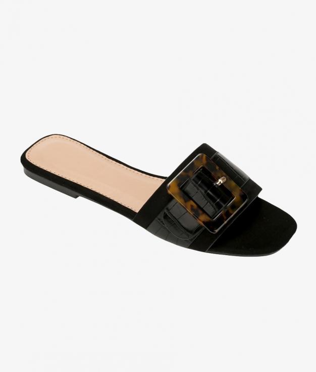 Flat Sandal Cilian - Black