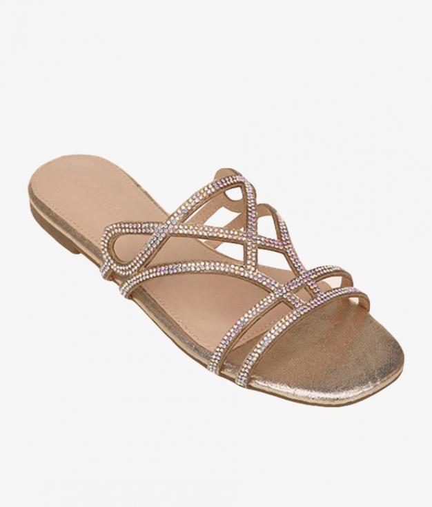 Flat Sandal Brendan - Gold