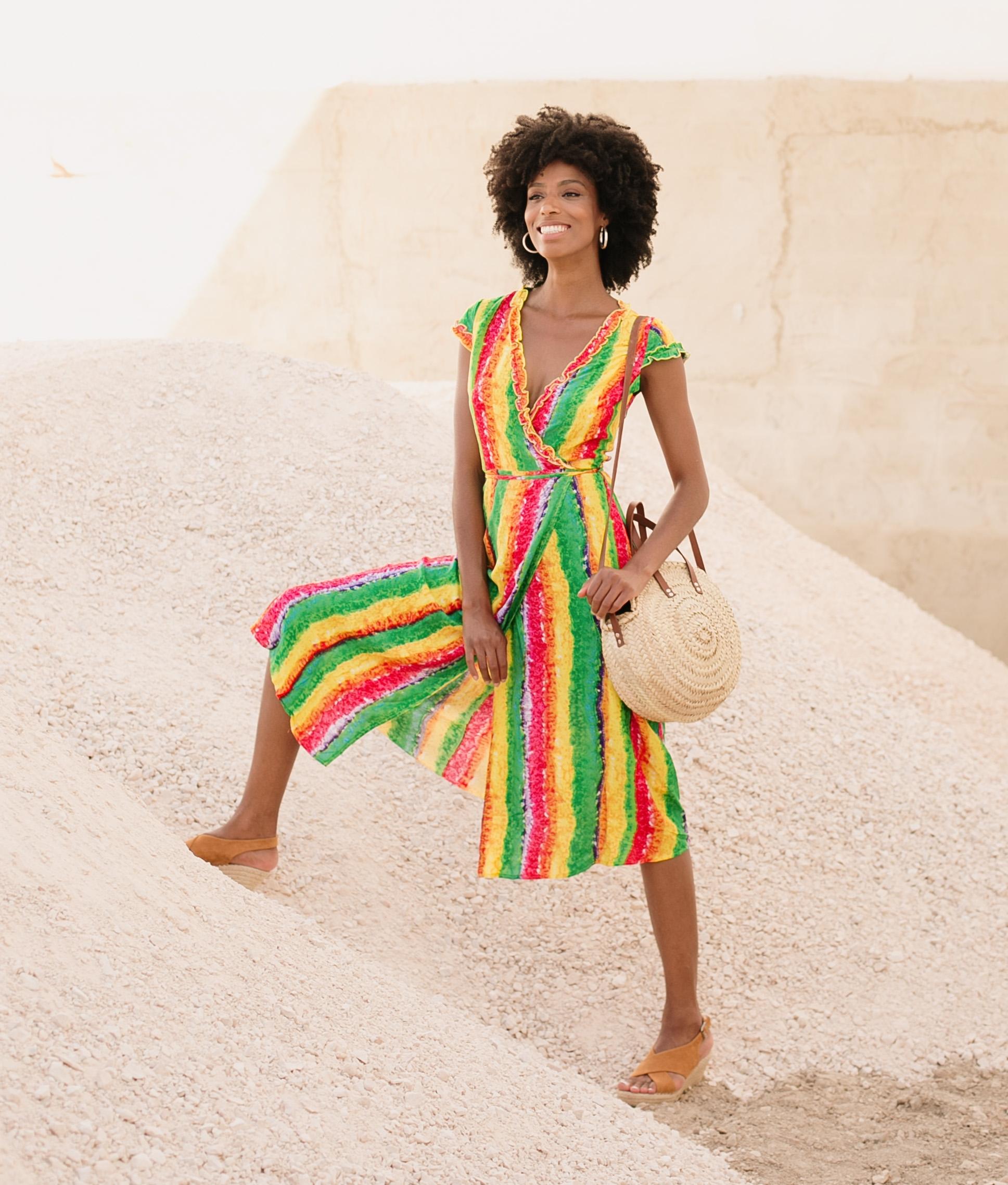 Dress Baci - Multicolor