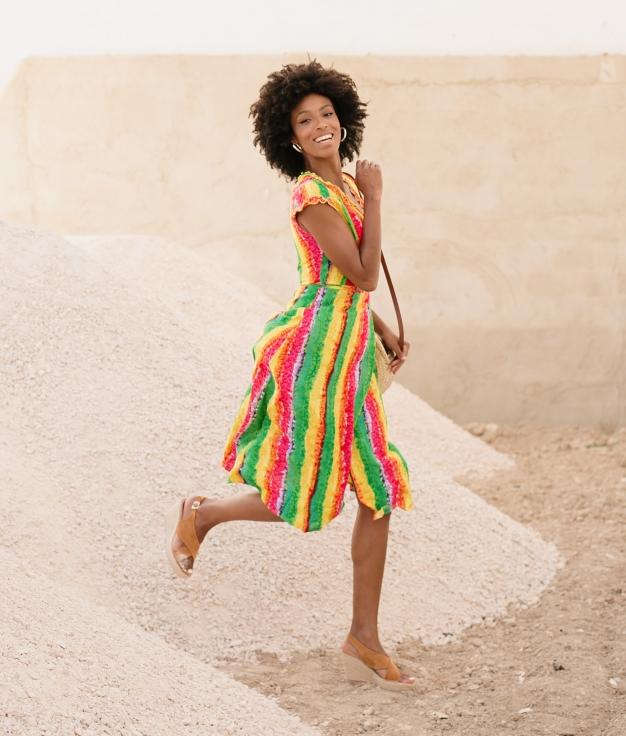 Vestido Laken - Multicolorido
