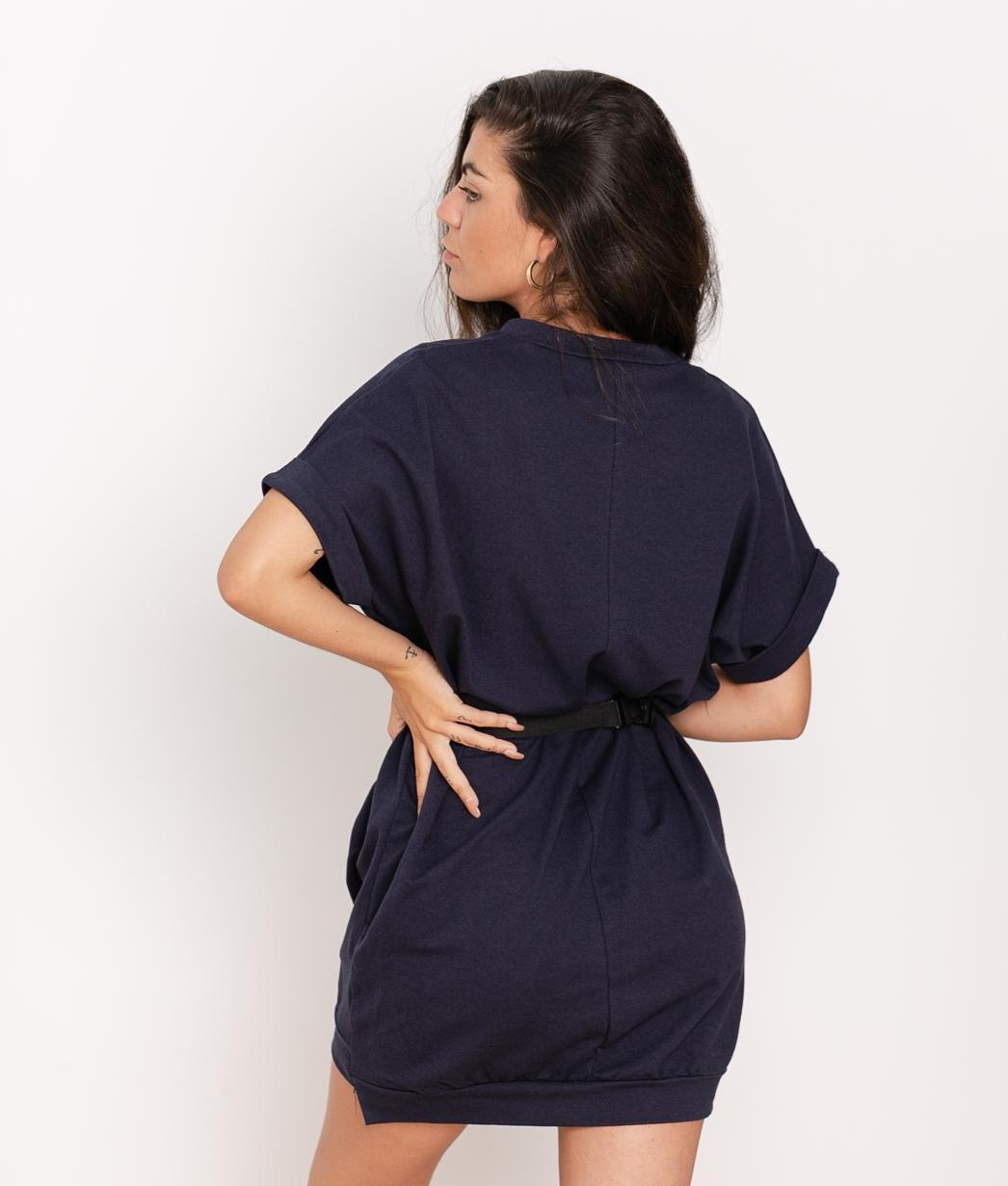 Vestido Yuner - Azul Marino