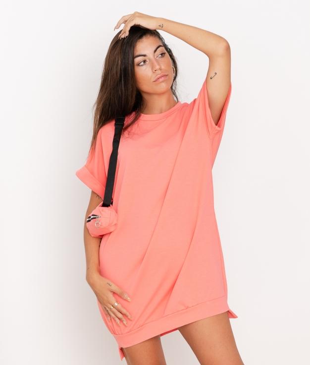 Vestido Yuner - Coral