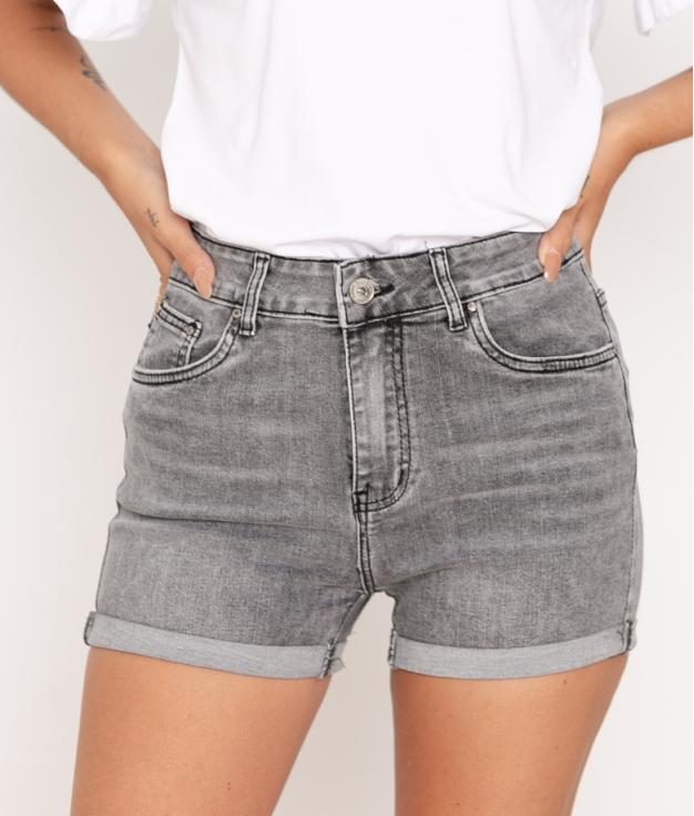 Short Manlavel - Gris