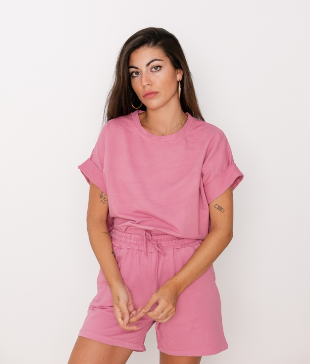Camiseta Jere - Rosa
