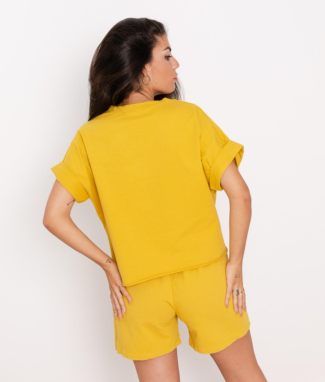 Camiseta Jere - Mostaza